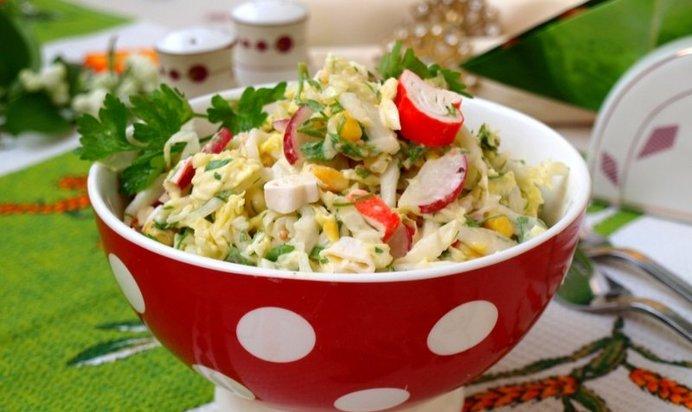 Рецепты детских салатов просмотр фото