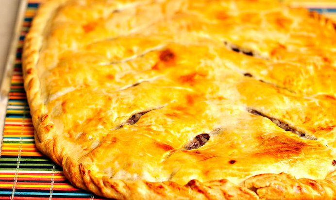 Рецепты мясных пирогов с пошаговым приготовлением и