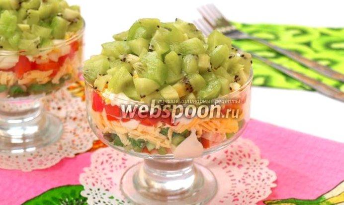 Салат изумрудный рецепт пошагово