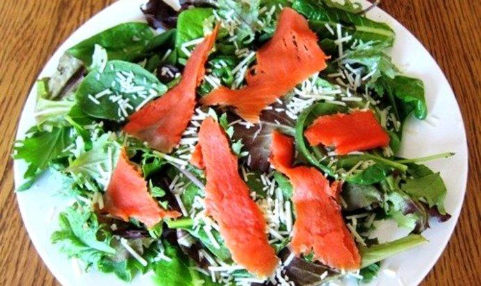 Легкие салаты рецепты с простые и вкусные с рыбой