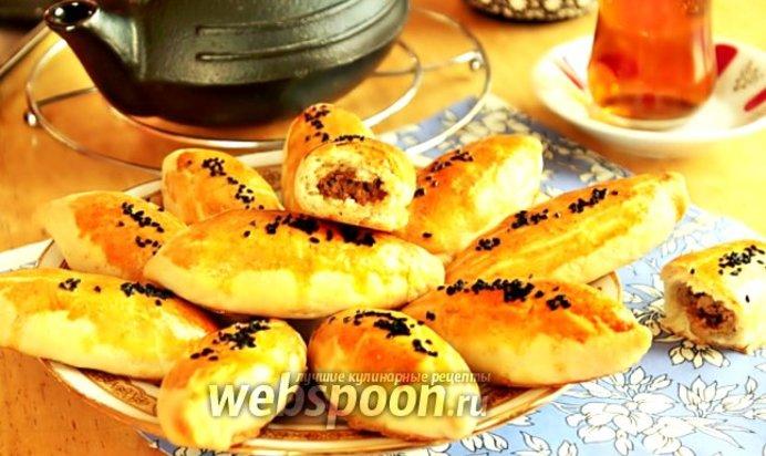 Бездрожжевые пирожки в духовке рецепт с пошагово