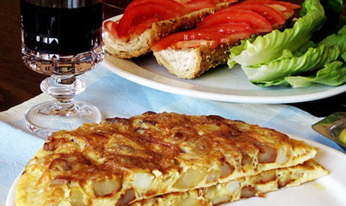 Испанская тортилья пошаговый рецепт