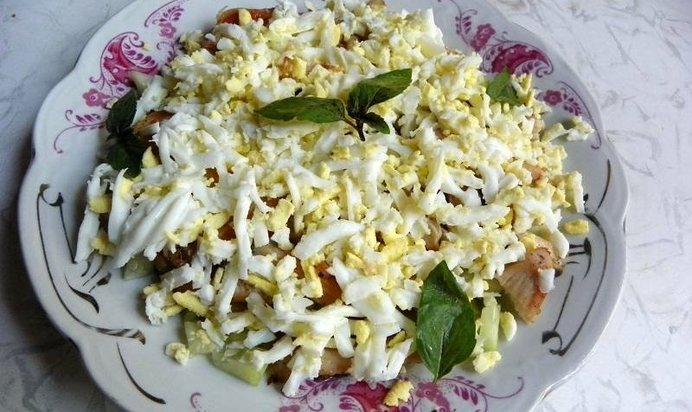 Теплые салаты рецепты простые