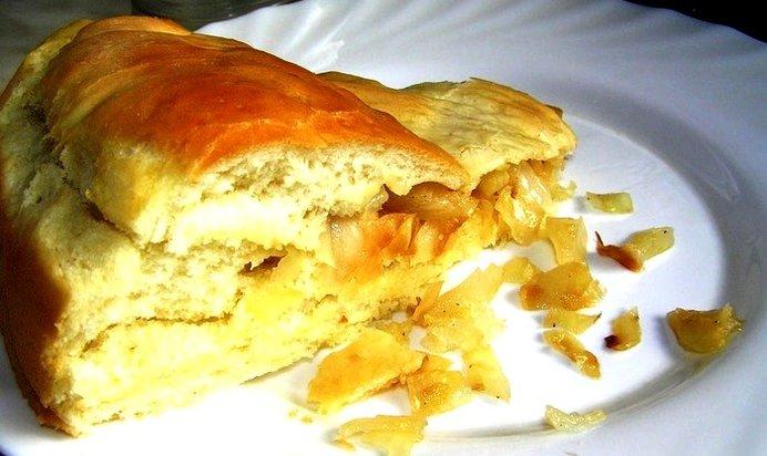 Постные пироги с капустой в духовке пошаговый рецепт с