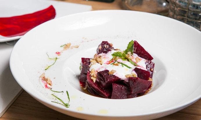Салат со свеклой без майонеза рецепты с простые