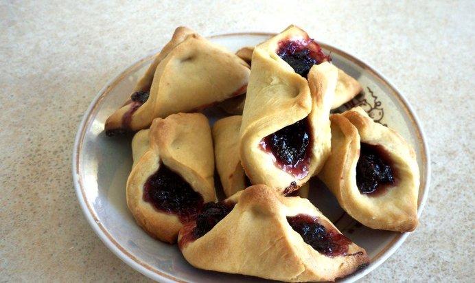 Домашние печенье вареньем рецепт фото