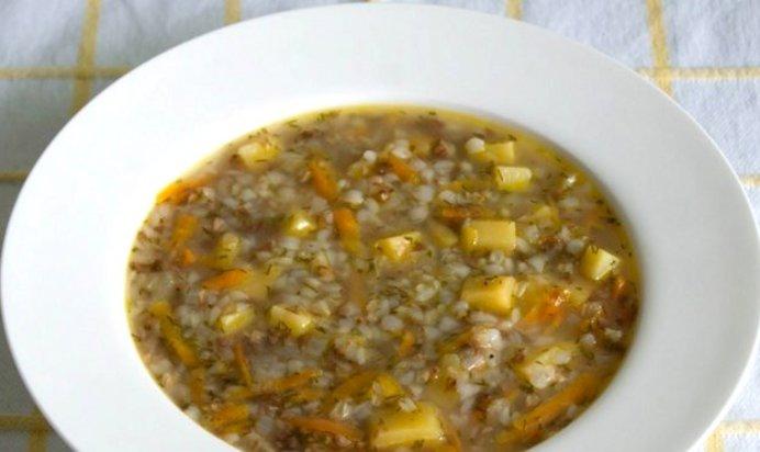 Гречневый Суп Рецепт С Курицей С Фото Пошагово
