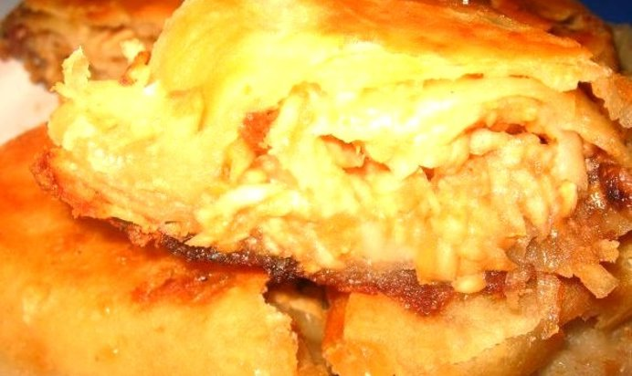 Вертута с сыром рецепт с пошагово