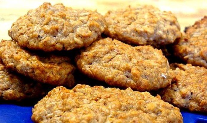 Печенье с овсяных хлопьев постное рецепт пошагово