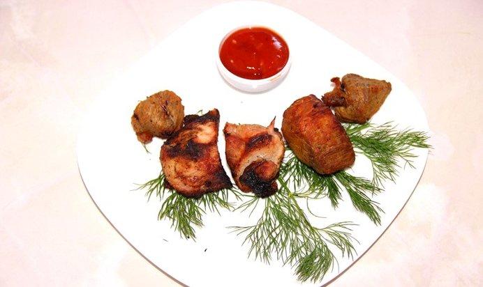 Простой шашлык из свинины рецепт с пошагово в