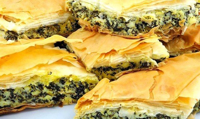 Пирожки из шпинатаы с фото