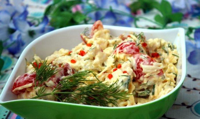 С консервированными кальмарамиы с фото простые и вкусные