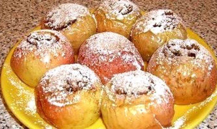 Яблоки печеные рецепт пошагово с
