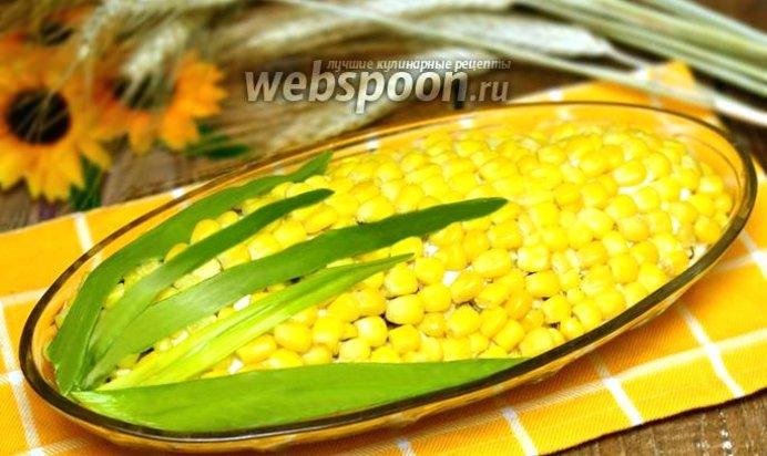 Салаты кукурузы фото