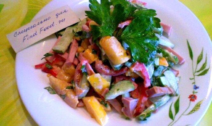 Салат из фунчозы рецепт очень