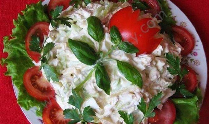 Вкусные салаты на день рождения рецепты с