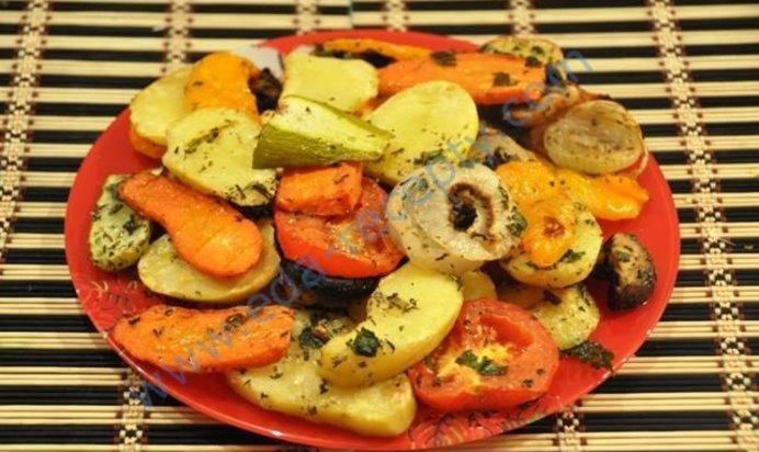 Гриль из овощей рецепты