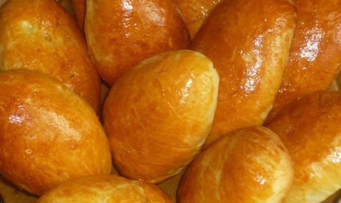 Пирожки с яйцом и луком в духовке пошаговый рецепт с фото
