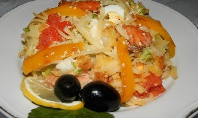 Салат карнавал рецепт