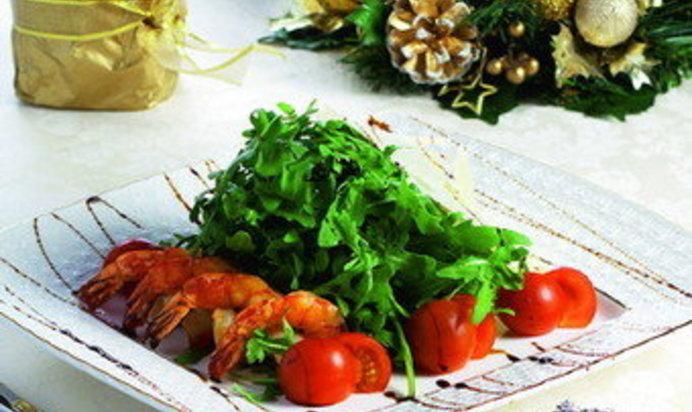 Салат дары моря фото