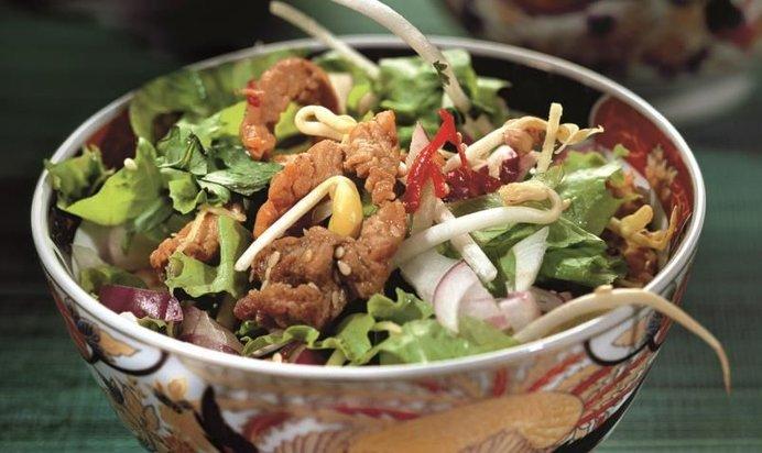 Салаты рецепты китайские