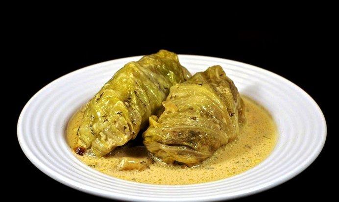 Голубцы в сметанном соусе в духовке рецепт пошагово