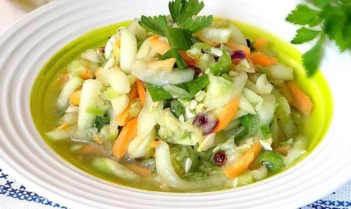Рецепты салат из кабачков консервирование