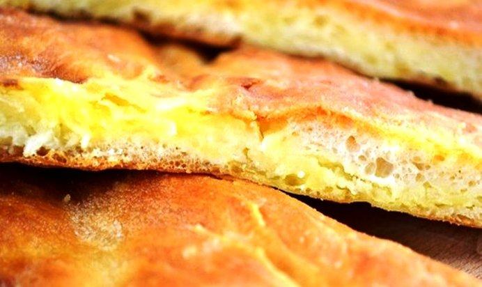 пирог с картошкой пошаговый рецепт с фото