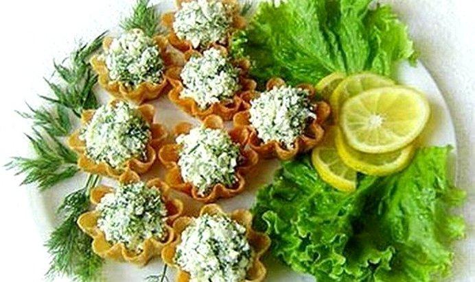 Рецепты салатов для тарталеток с пошагово
