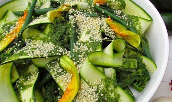 Салат из кабачков с пошагово