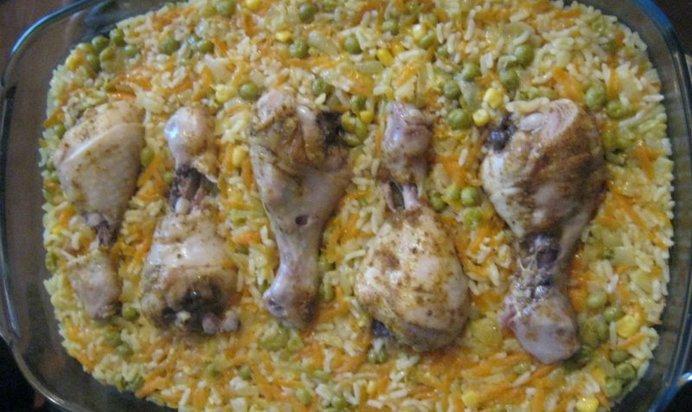 Пошаговый рецепт плова с курицей