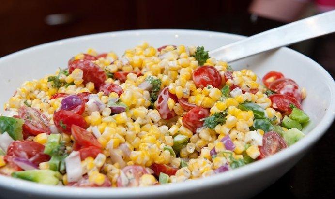 Салат из кукурузы и курицы рецепт очень вкусный