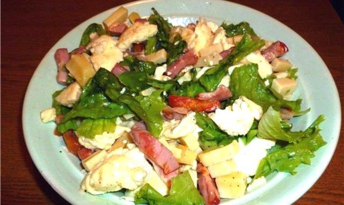 Рецепты салатов легкие но очень вкусные рецепт