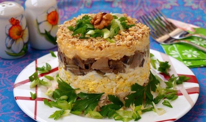 рецепты новых вкусных салатов с курицей