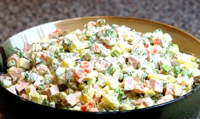 Салат рецепты зимний с