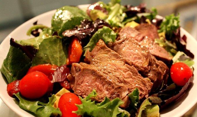 Ужин по быстрому из мяса рецепт с фото