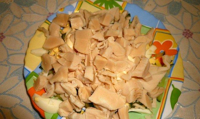 Кальмары консервированные рецепты фото