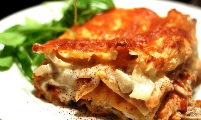 Рецепт лазаньи с рыбой в домашних условиях