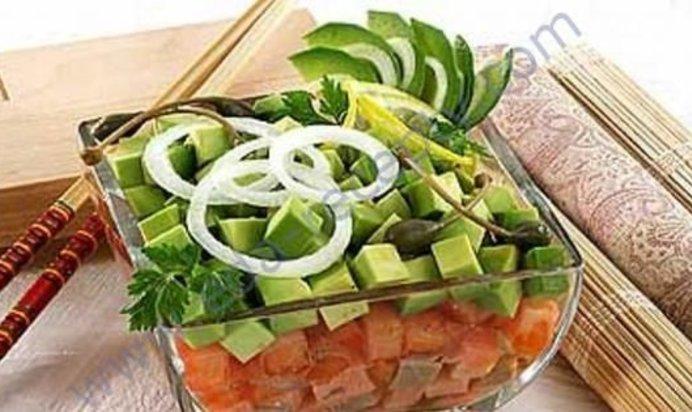 Рецепты салатов с соленой горбушей простые и вкусные