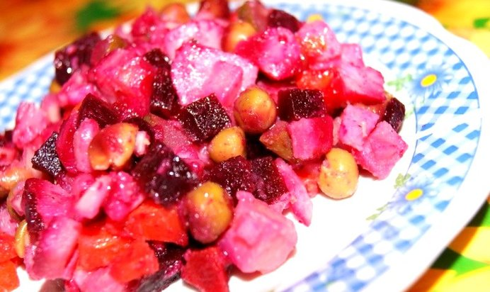 Винегрет без капусты классический рецепт пошагово