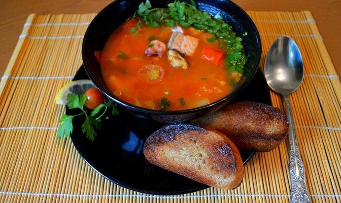 рыбный суп рецепт с фото удалению желудка полностью