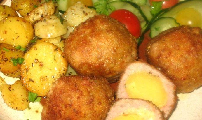 Рецепт тефтелей с картофелем