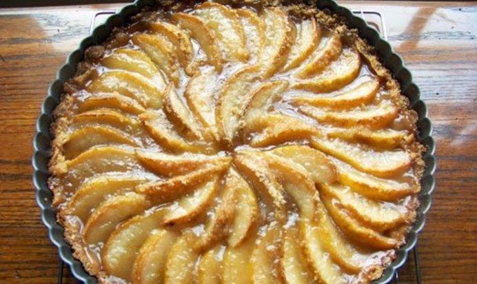 Как приготовить пирог с грушей рецепт пошагово с