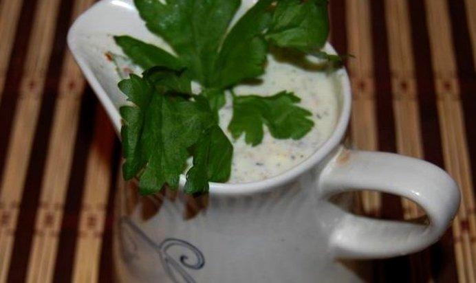 Соус тартар на йогурте
