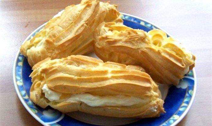 Рецепт заварное пирожное пошаговый рецепт пошаговый