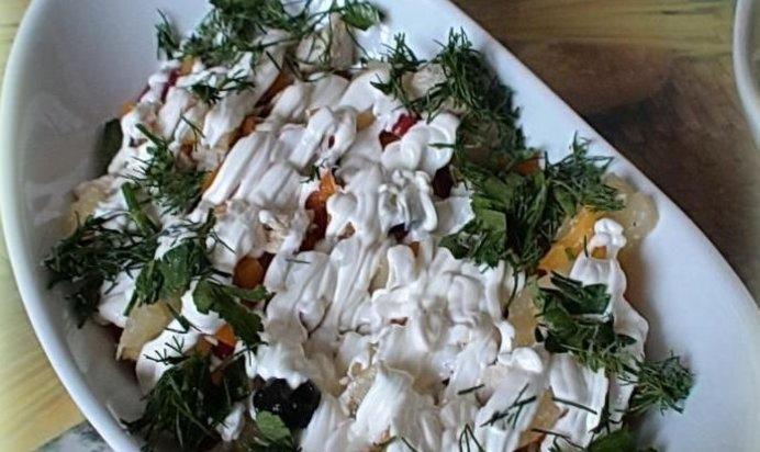 салат гербарий рецепт с фото пошагово страницам страшна