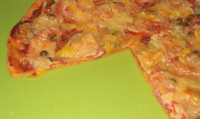 Пицца с тонким тестом рецепт с пошагово