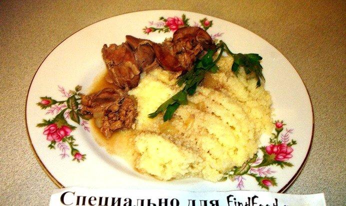 Куриная печень рецепты с фото пошагово тушеная