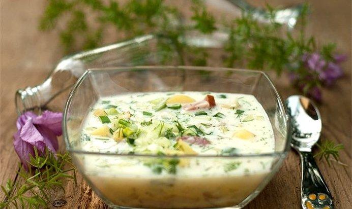 Салат с маринованными опятами и копчёной курицей рецепт