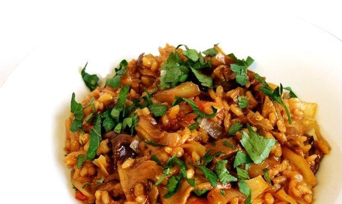 Капуста с рисом рецепт пошагово